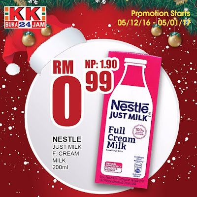 KK Super Mart Nestle Full Cream Milk Discount Deal