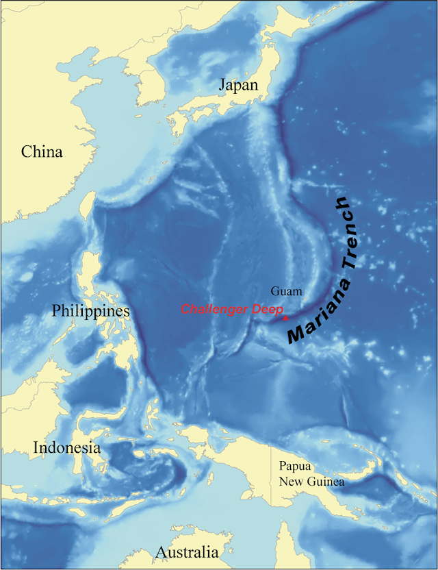 Facts about Mariana Trench  the deepest point in the Oceans of the earth