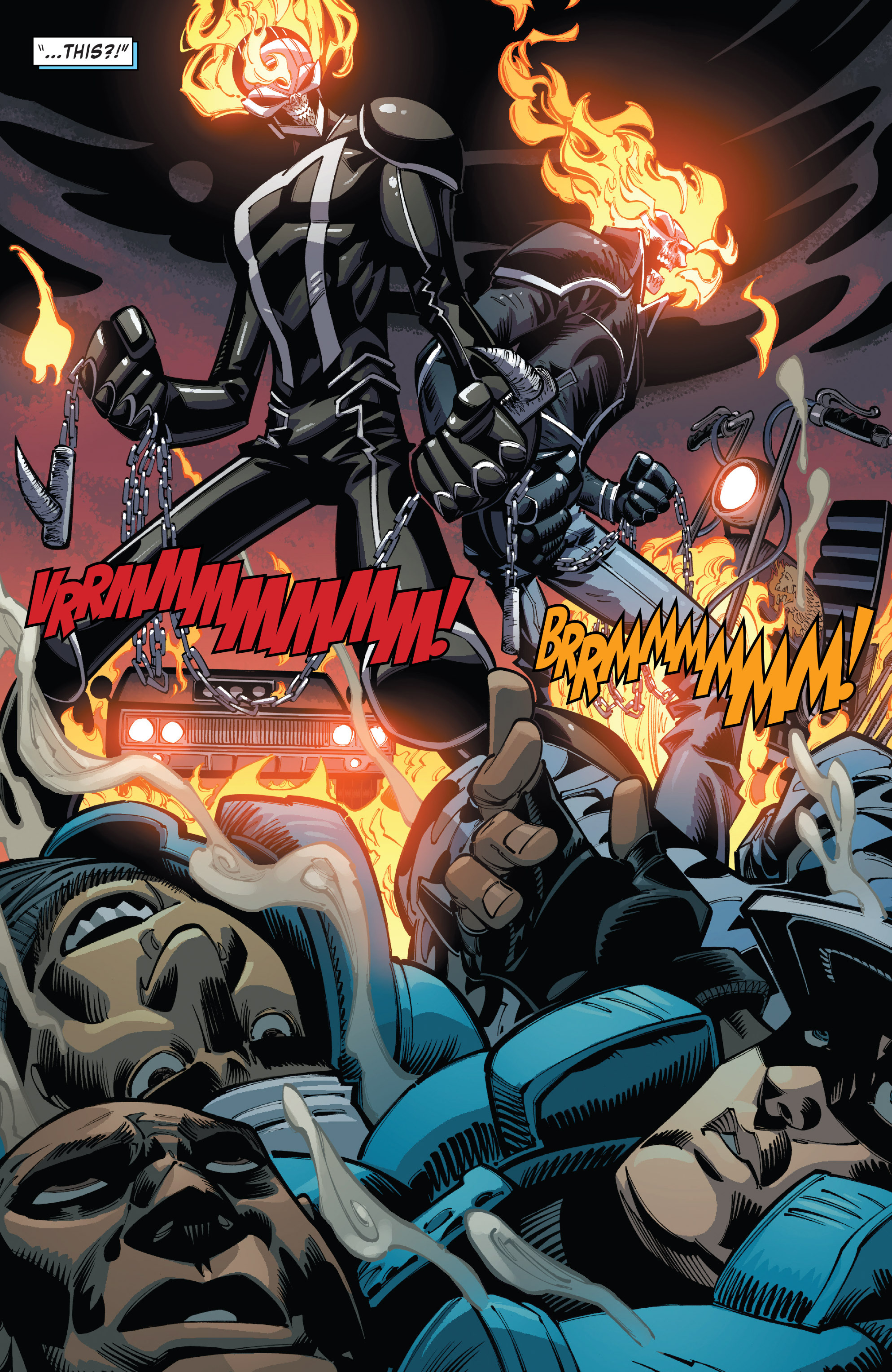 Read online All-New Ghost Rider comic -  Issue #10 - 21
