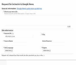 Google news me blog submit kaise kare 3