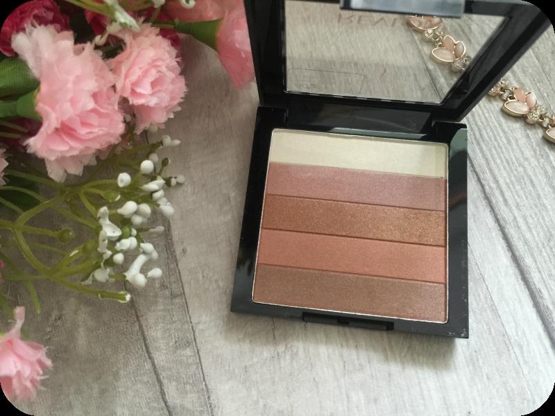 revlon highlighting palette in bronze glow shades