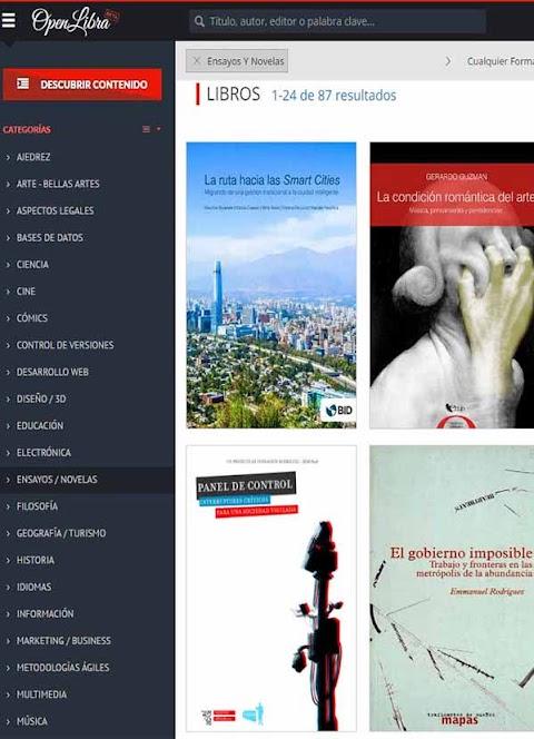 OPENLIBRA: La Biblioteca digital libre ahora renovada