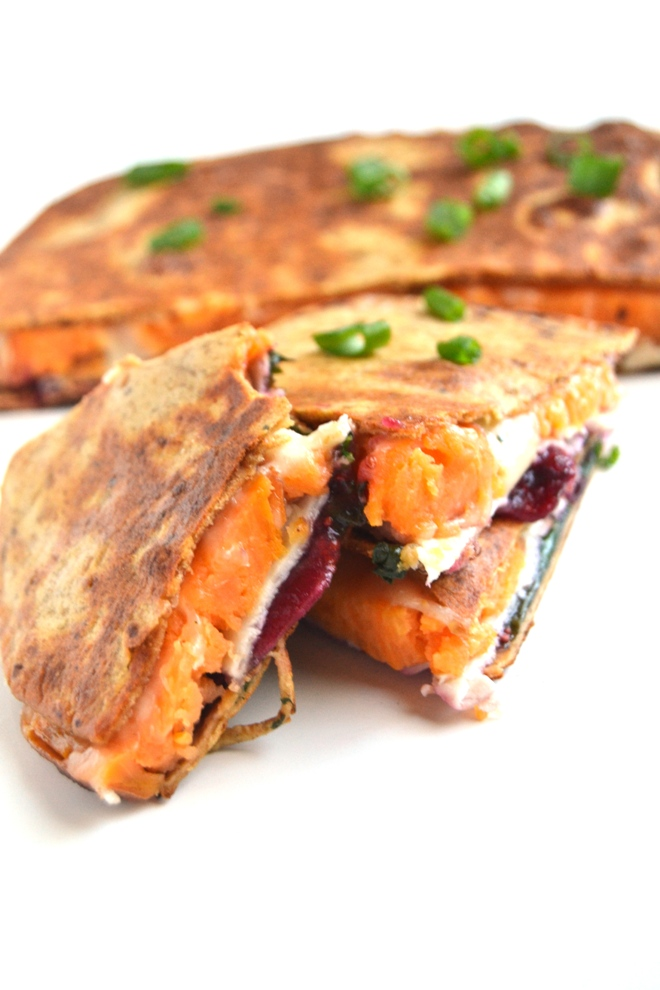 Turkey, Swiss and Cranberry Quesadillas take 10 minutes to make and ...