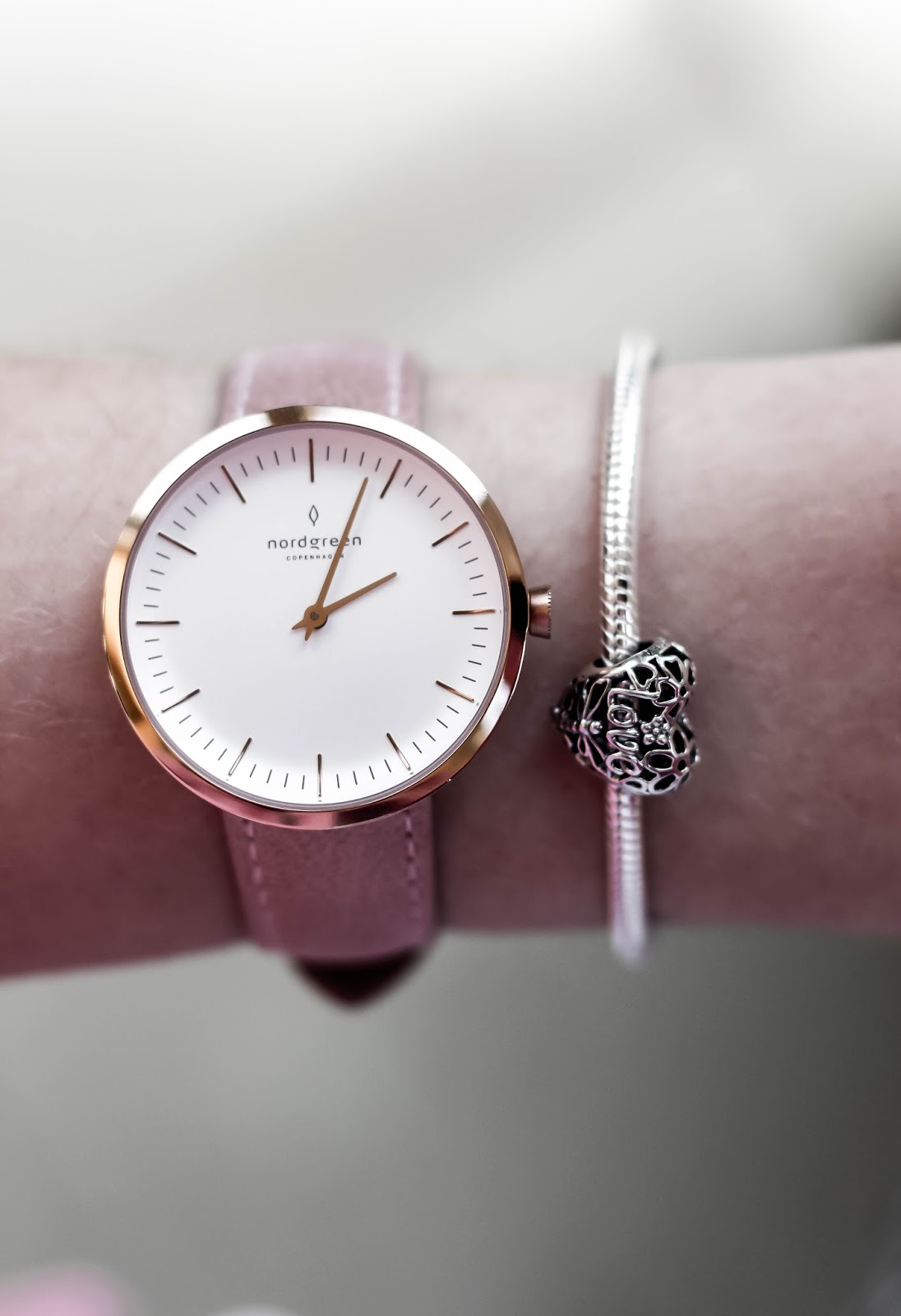 Nordgreen Infinity Pink Rose Gold Watch Fashion Blog Review