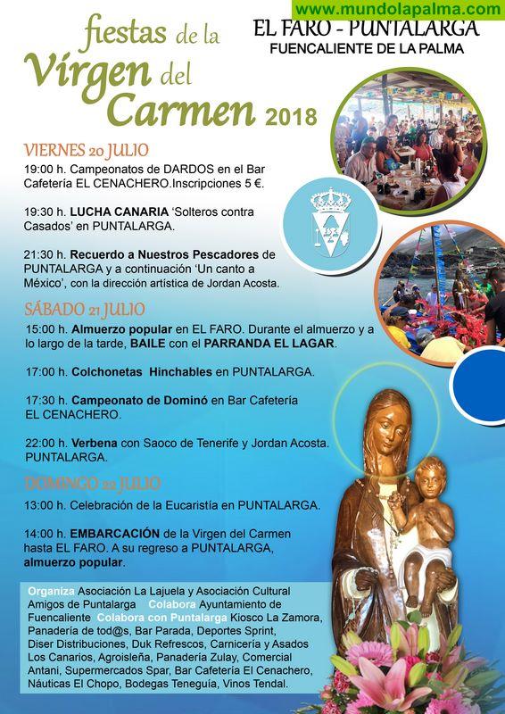 Fuencaliente celebra la Fiesta del Carmen este fin de semana