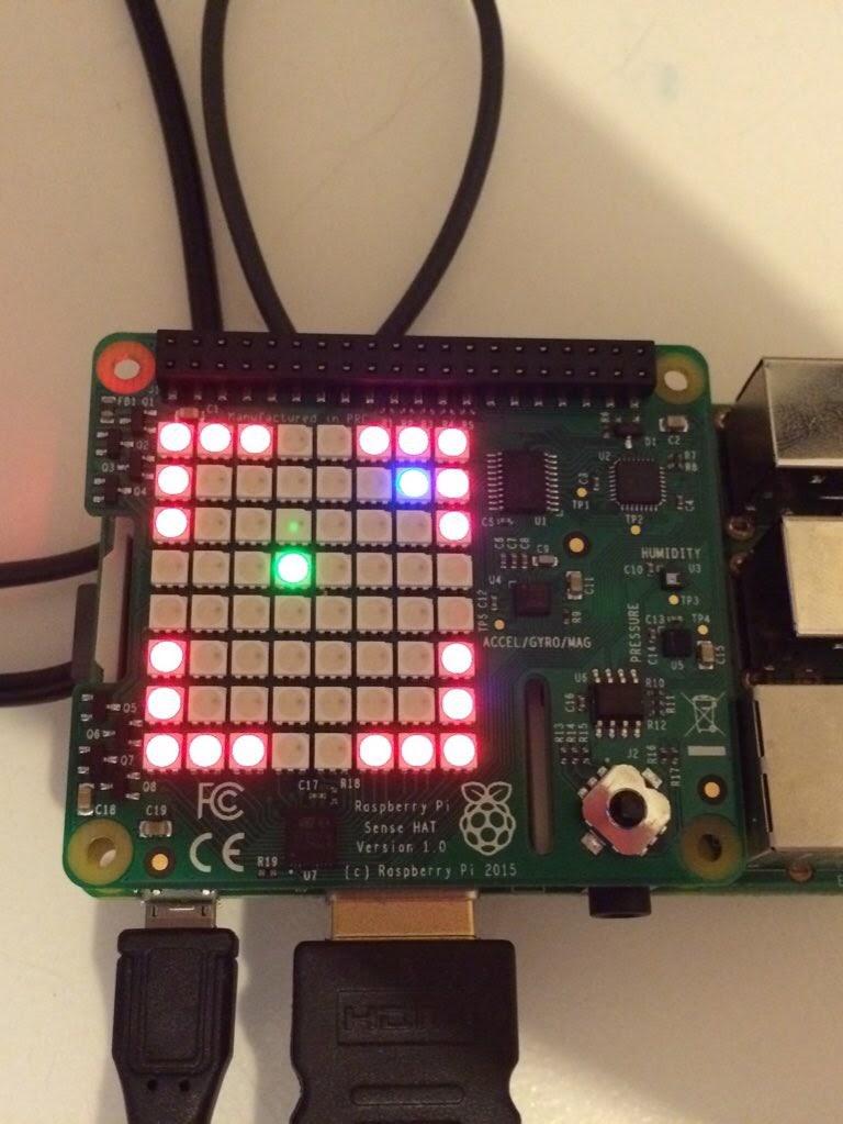 Raspberry Pi Sense HAT game – Sense Cave – Raspberry Pi Pod on