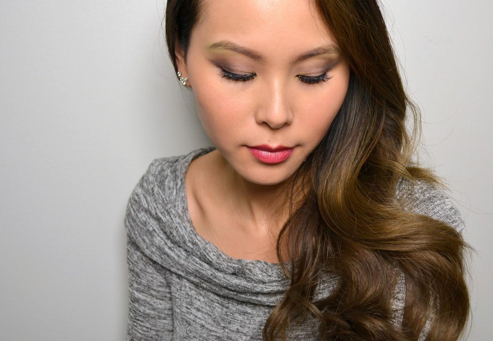makeup look | dior glowing gardens 5 couleurs eyeshadow palette in