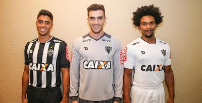 Dryworld Atletico Mineiro 2016 Home and Away Kits Released 25560f86e1e5d