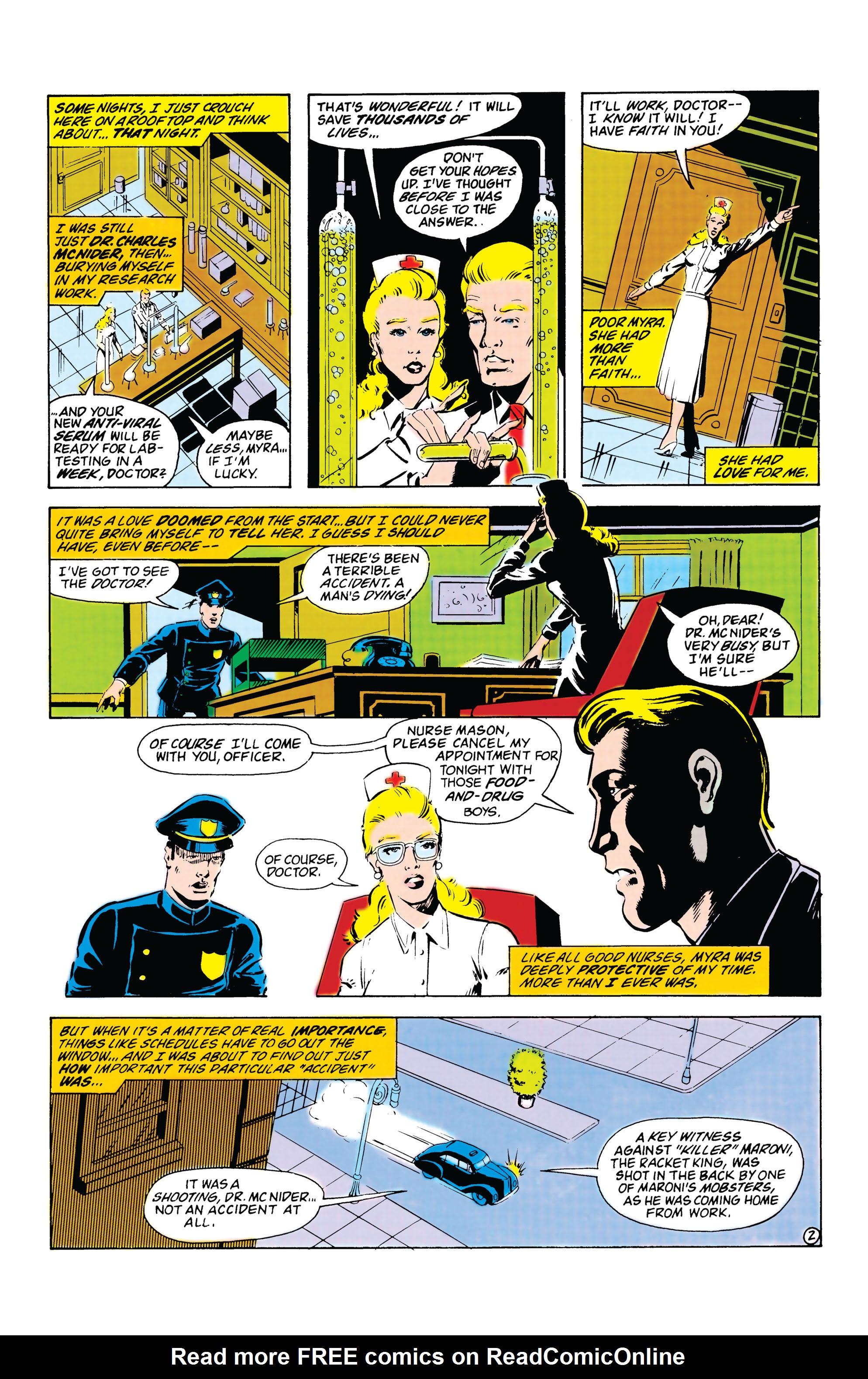 Read online Secret Origins (1986) comic -  Issue #20 - 21