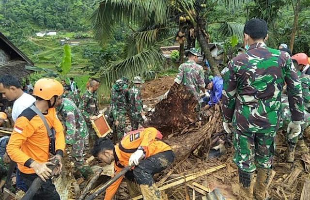 BPBD: 20 Korban Longsor Sirnaresmi Sukabumi Belum Ditemukan