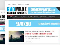 Cara Setting Template Evo Magz Error Link Share facebook,google+, error