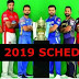 Full Vivo Ipl 2019 Schedule