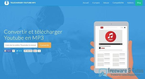 Telecharger-Youtube-MP3 : les vidéos de Youtube en MP3