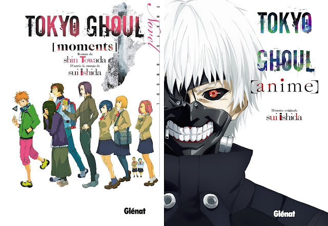 Actu Light Novel, Glénat, Light Novel, Shin Toawada, Sui Ishida, Tokyo Ghoul [moments],