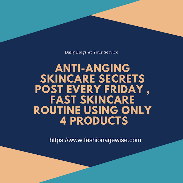 image result Anti-Anging Skincare Secrets  Fast Skincare Routine Using Only 4 Products