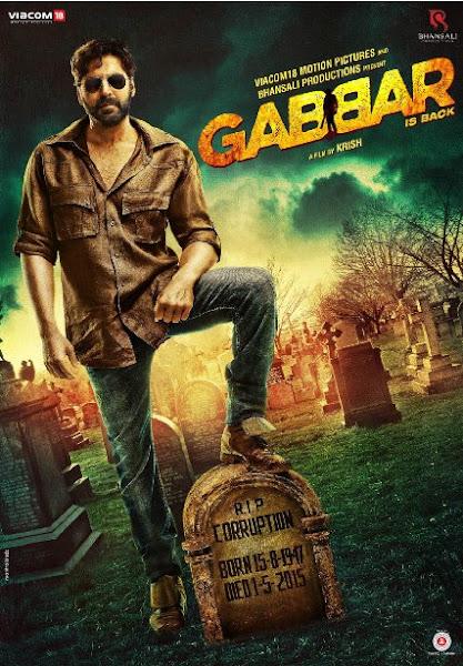 Poster Of Gabbar Is Back 2015 720p BRRip Hindi