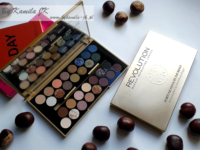 Makeup Revolution paleta cieni Fortune Favours the Brave