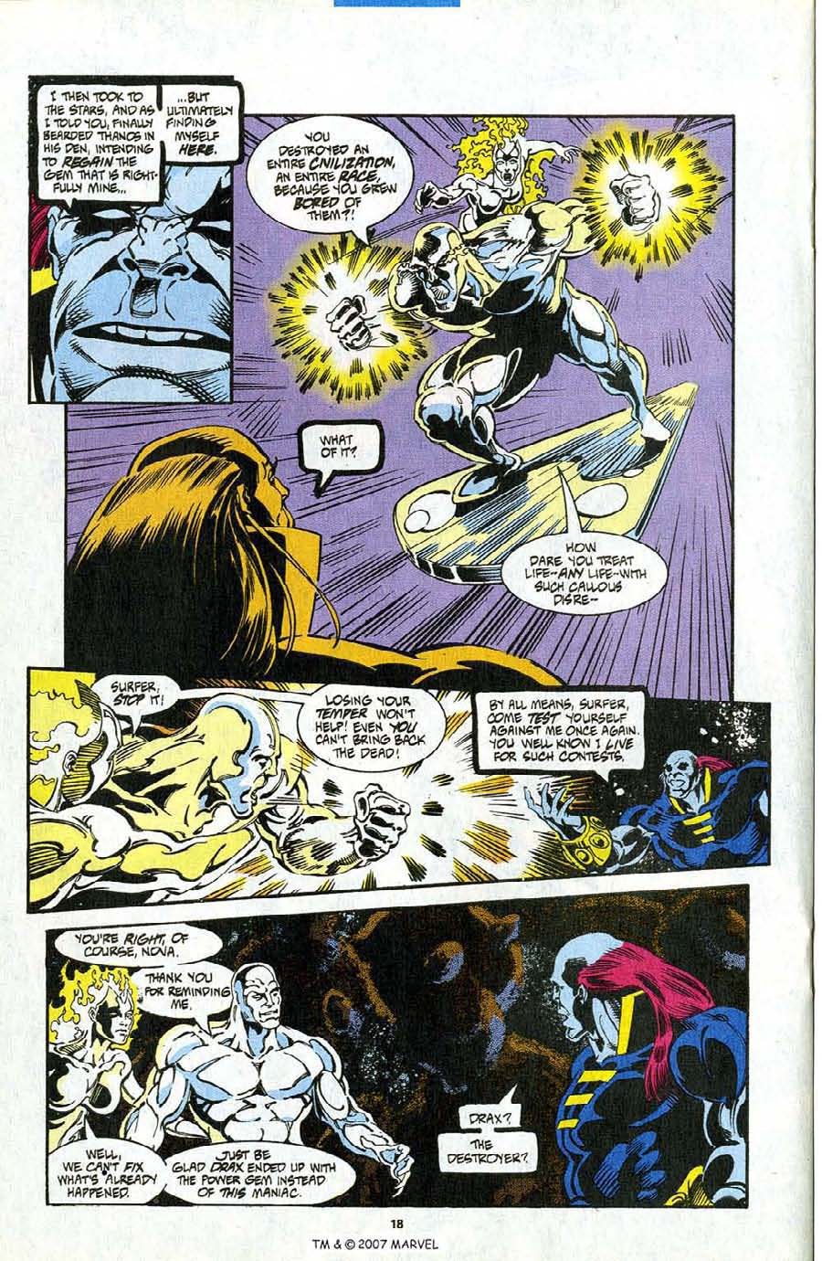 Read online Silver Surfer (1987) comic -  Issue #98 - 20