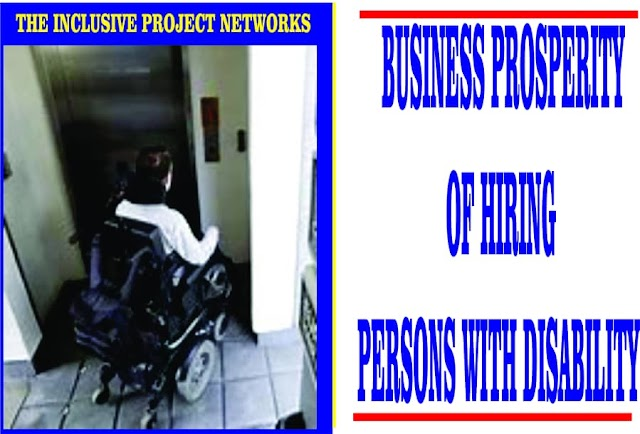 Business Prosperity Of Hiring People with Disability In Nigeria