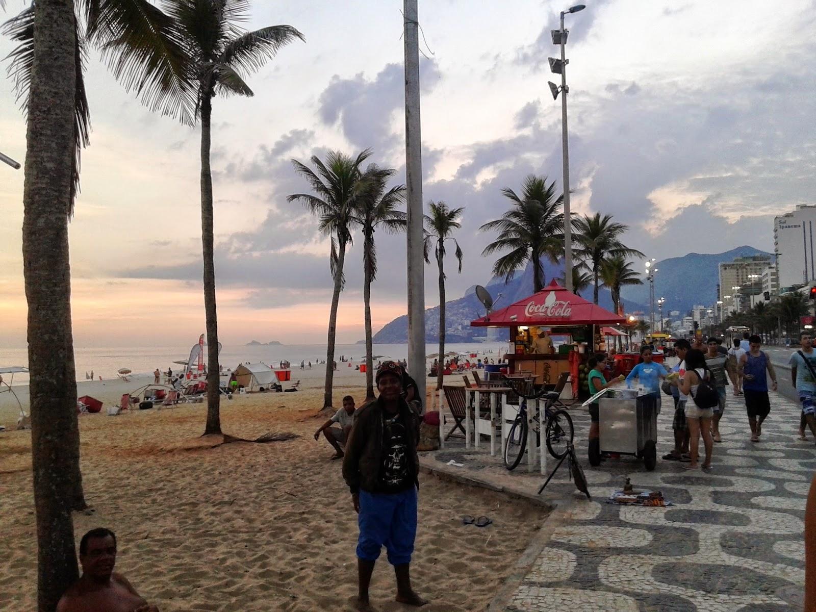 Playa de Ipanema, Rio de Janeiro