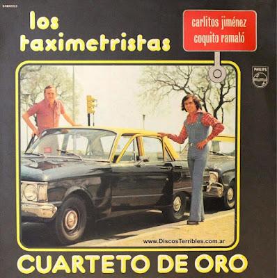 Cuarteto de Oro - Los Taximetristas / Discos Terribles