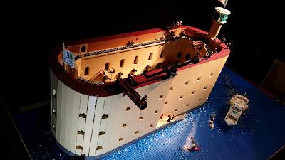 Fort Boyard en LEGO