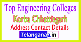 Top Engineering Colleges in Korba Chhattisgarh