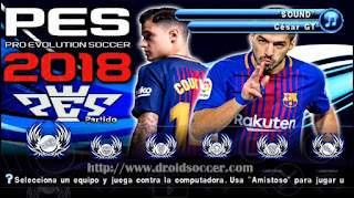 PES 2018 PSP LATINO ISO PSP Android