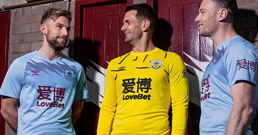 Burnley FC 19-20 Away Kit Revealed