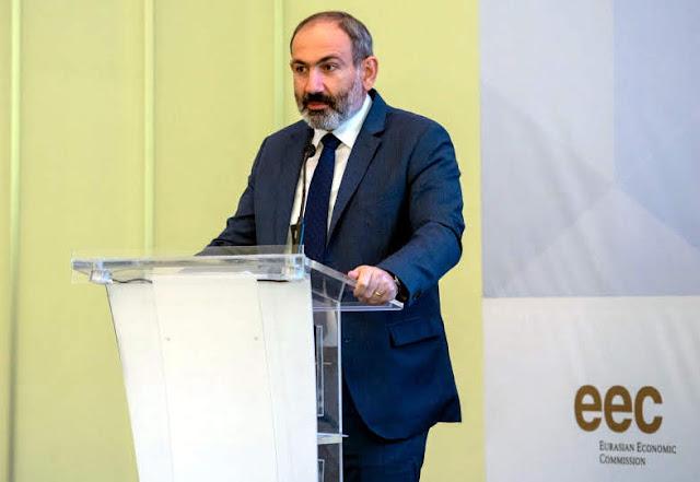 Pashinyan asegura prioridad de la Unión Económica Euroasiática