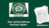 East Central Railway Sports Quota Previous Papers