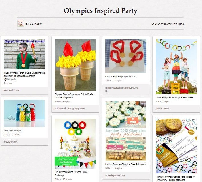 Last Minute Olympic Party Ideas - BirdsParty.com