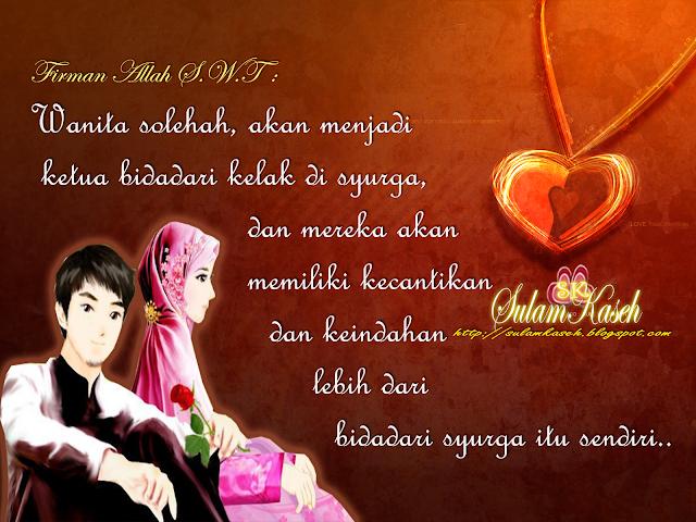 Image result for kisah suami istri muslimah penyayang