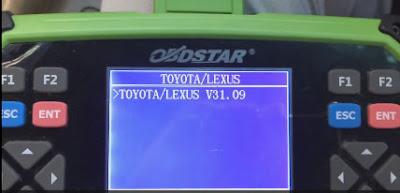 Toyota / Lexus v31.09 logiciel