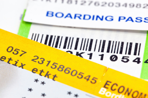 Boarding Pass by Morgue File