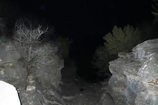 The beginning of Dogleg Canyon