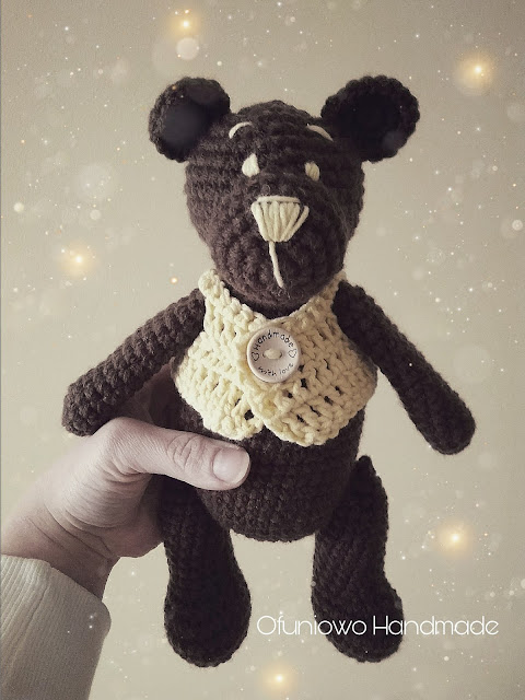 Crochet teddy by Ofuniowo Handmade