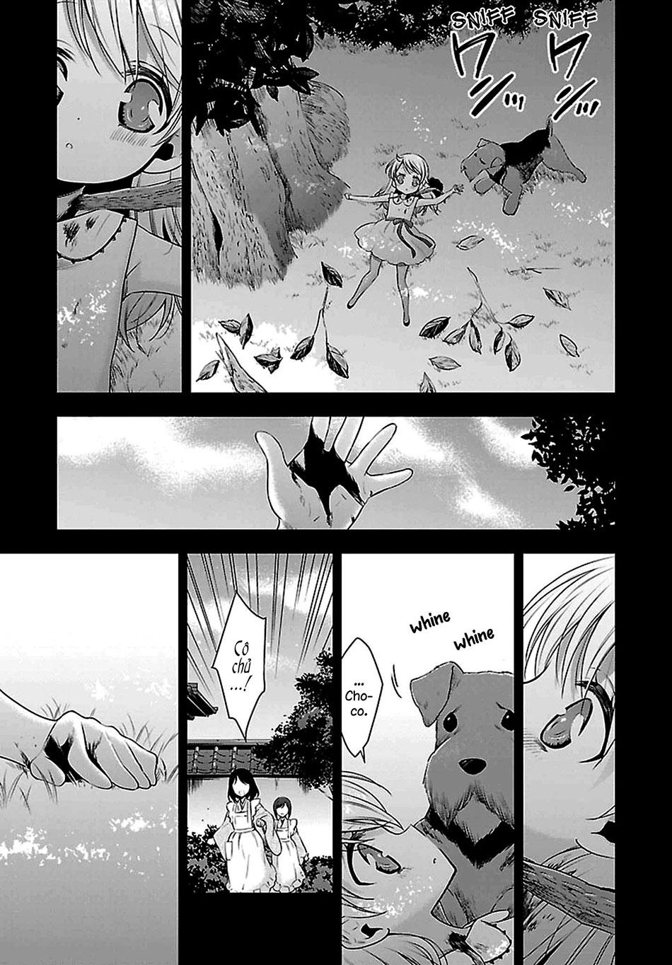 HentaiVN.net - Ảnh 4 - Kyuuketsuki-chan to Kouhai-chan - Chap 8