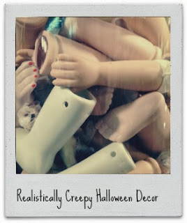 How to decorate for Halloween - realistically creepy decor