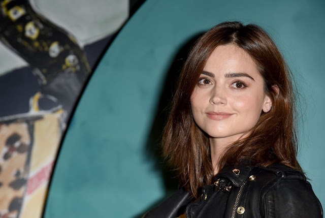 HD Photos of Jenna Louise Coleman ATBA Burberry Event in London