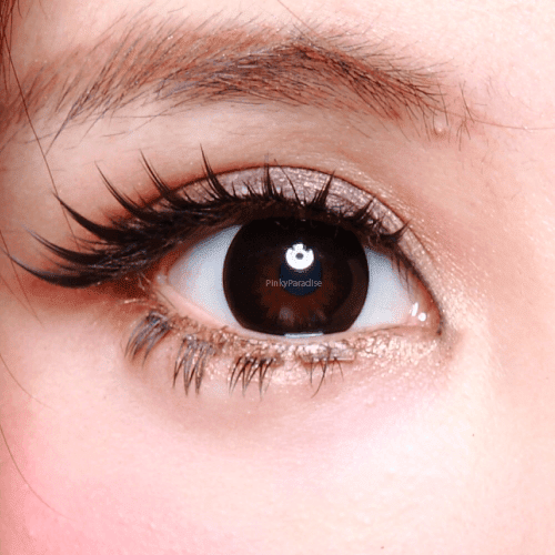 Geo Magic Black Circle Lenses Close-up