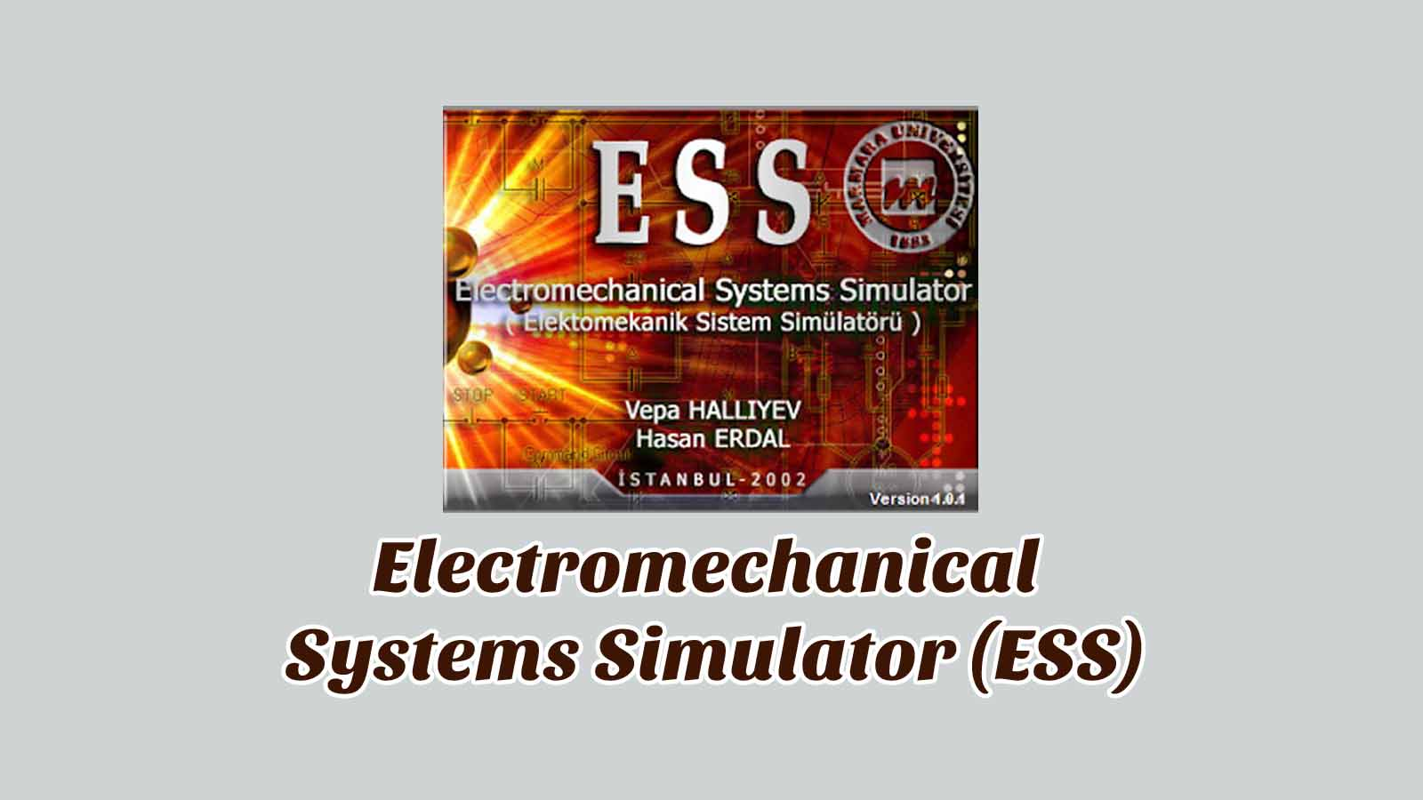 Daftar Isi Electromechanical Systems Simulator (ESS)