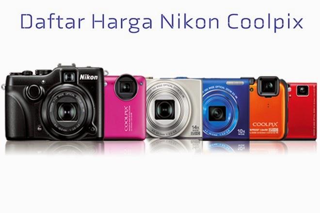Daftar Harga Kamera Saku Nikon Coolpix