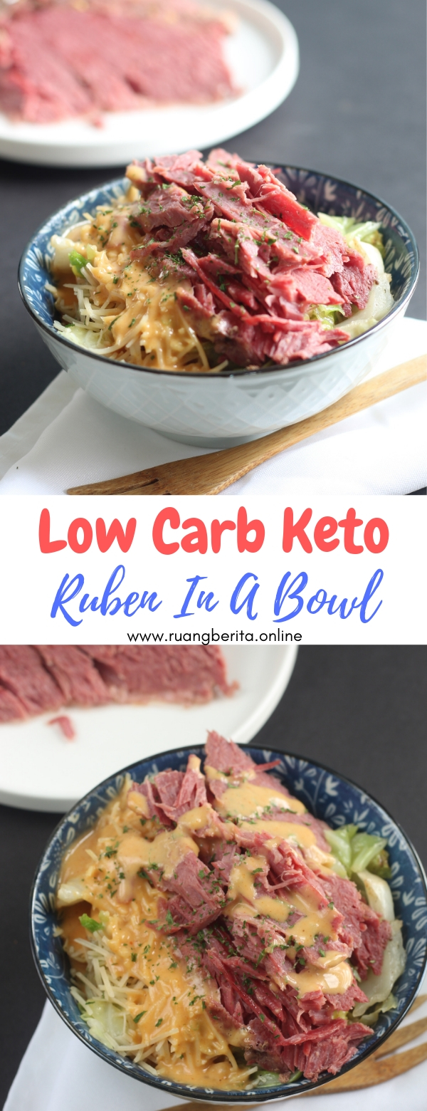 Ruben In A Bowl (Low Carb, Keto) #sandwich #ruben #inbowl #lowcarb #keto