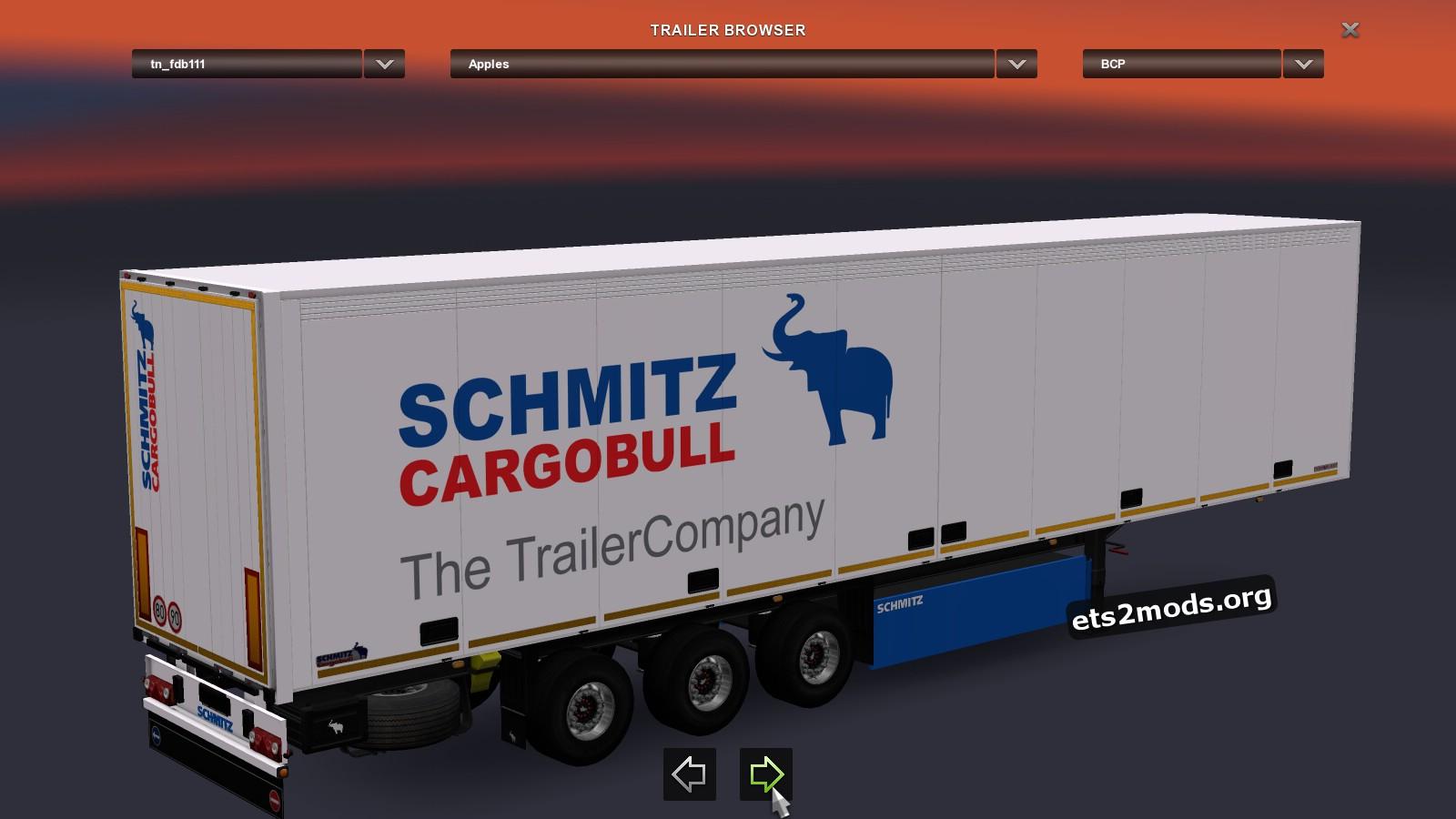 Schmitz Trailer Pack S.KO TZ v 1.24