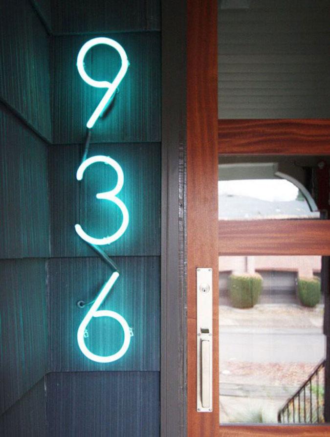 Números de Casa Estilosos 04