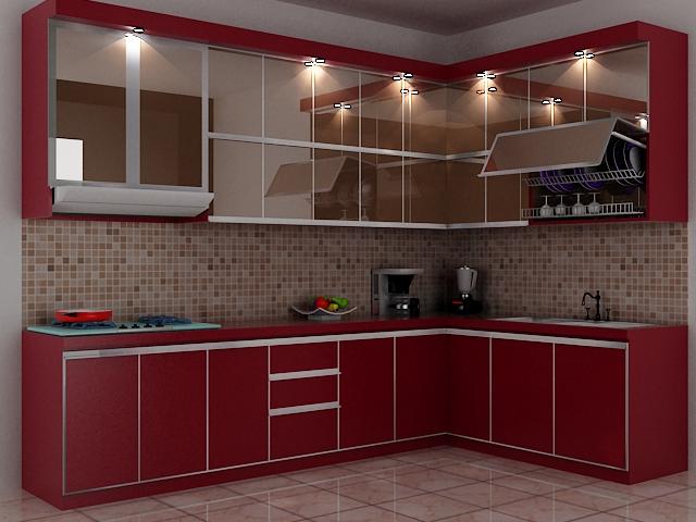 Almira Interior  Design Kitchen Set
