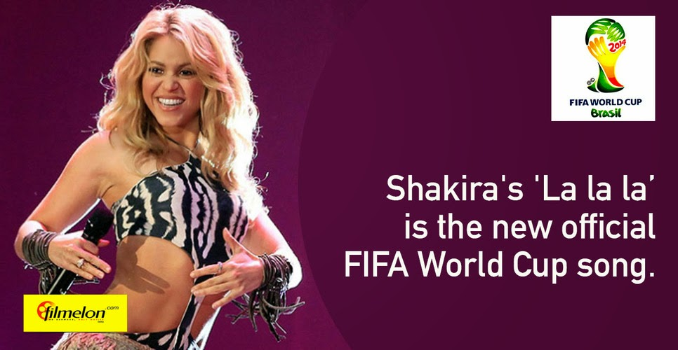 Music Shakira La La La New Official Fifa World Cup Song