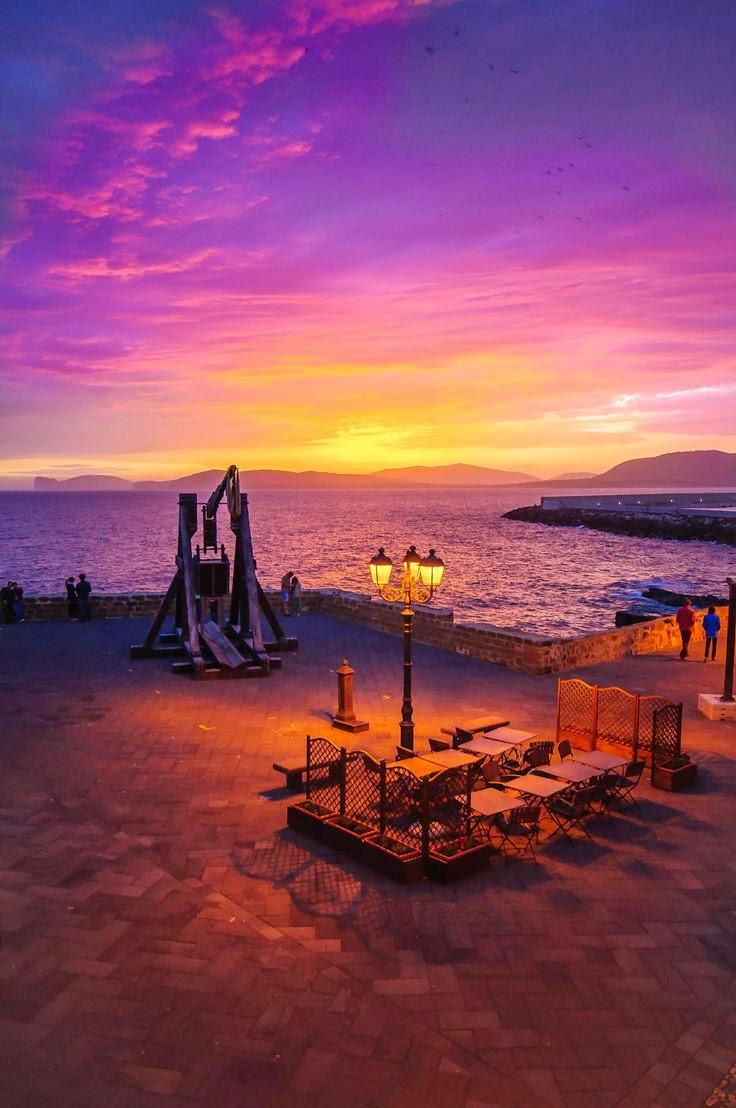 10 Hottest Summer Destinations In Europe   Sunset at Alghero, Sardinia, Italy