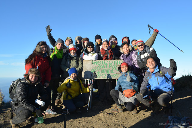 Mount Pulag Summit